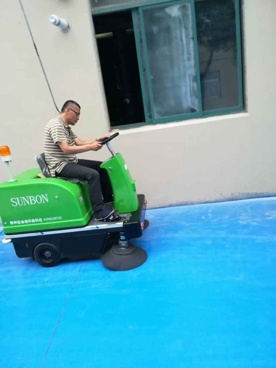 【圣倍诺】电动扫地车客户见证