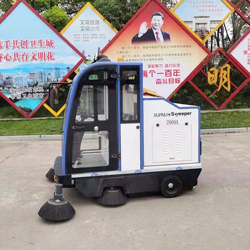 沐鸣2官方注册小型扫路车的优点