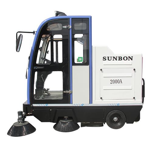 沐鸣2官方注册货仓车间使用哪种电动扫地车