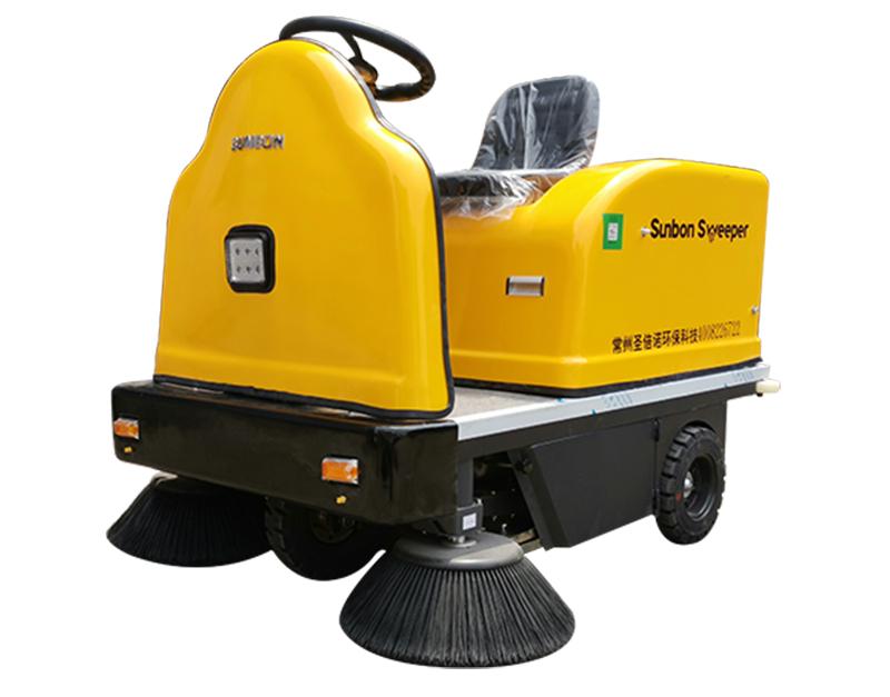 沐鸣2官方注册小型电动驾驶扫地车为何受清洁行业欢迎?