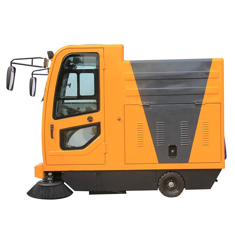 沐鸣2官方注册公园与景点为什么使用驾驶式电动扫地车