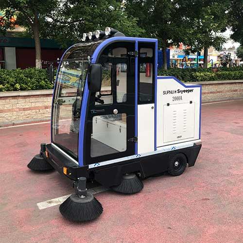 沐鸣2官方注册小型道路清扫车的优点: