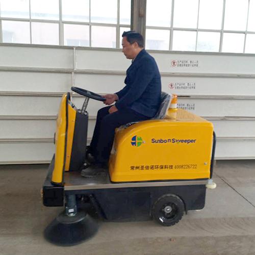 沐鸣2官方注册工业扫地车解决了企业地面清扫烦恼