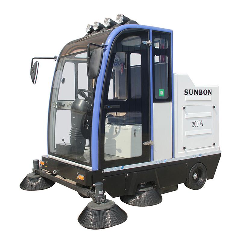 沐鸣2官方注册工厂保洁使用洗地机还是扫地机?