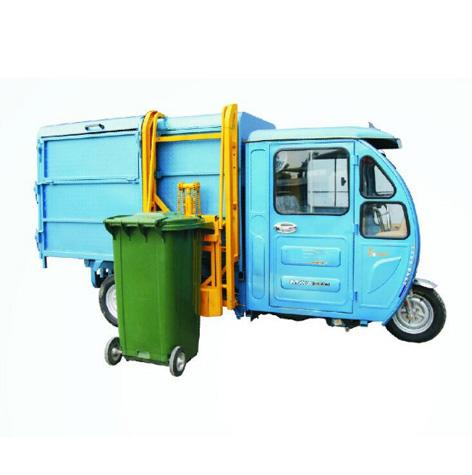 电动垃圾清运车-SBN半棚挂桶车/餐厨挂桶车/挂桶垃圾车